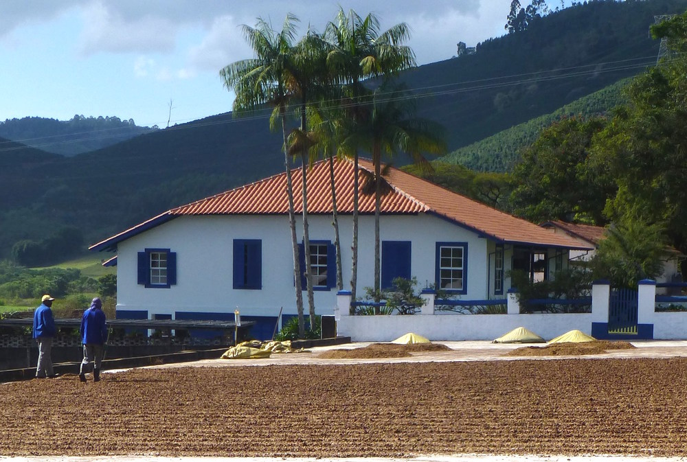 The beautiful Fazenda Recreio, one of our family's farms in Brazil.