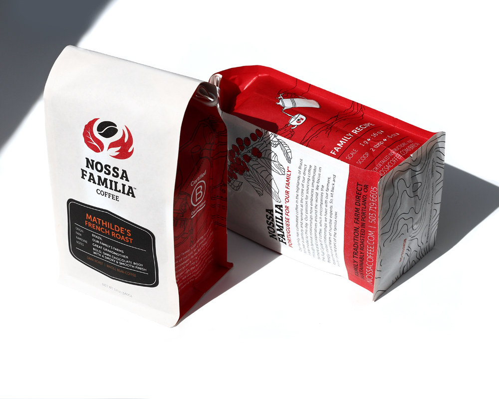 Nossa Familia New packaging