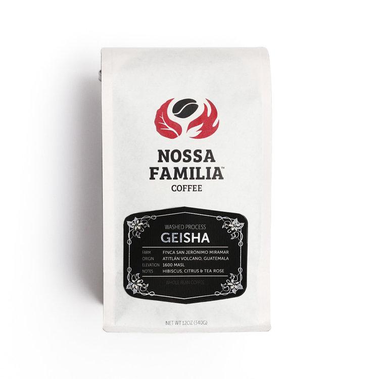 Washed Process Geisha Coffee from Guatemala by Nossa Familia Coffee