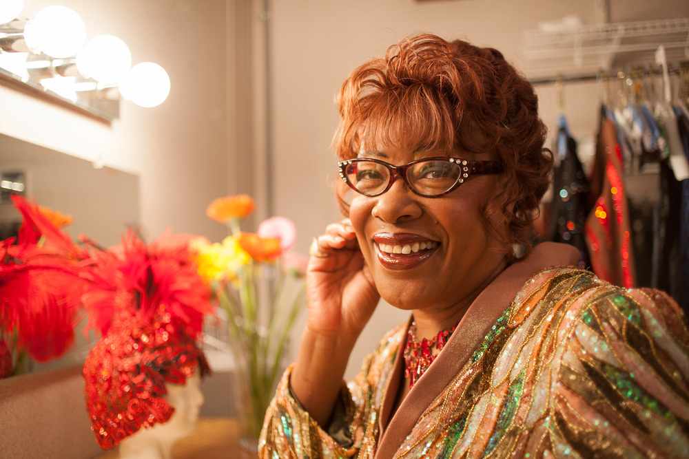 Singer Francine Reed, client: Seattle Weekly
