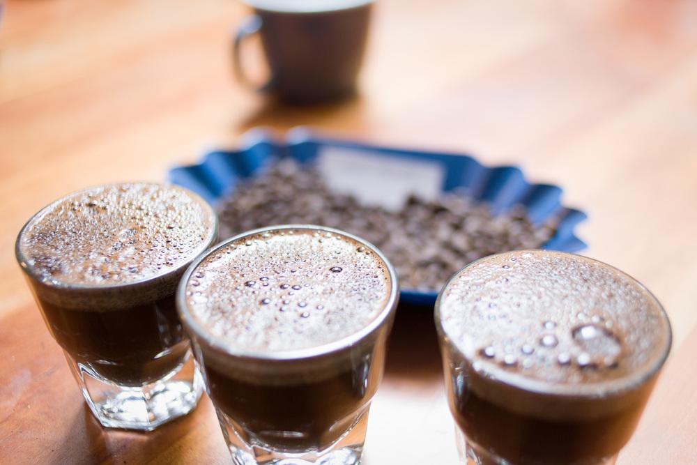 Coffee tasting at Stumptown, client: Seattle Weekly