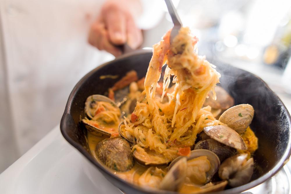 clam linguini, client: Boka