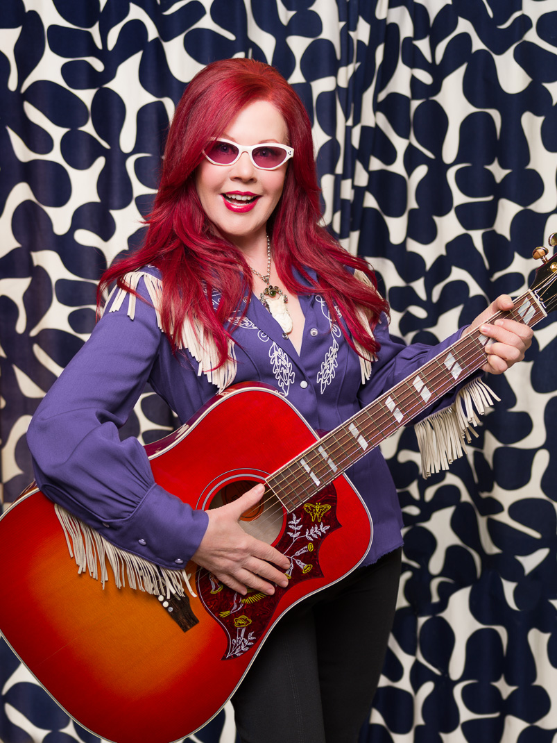 Kate Pierson of the B-52s, client: DINOSAUR Magazine Intl
