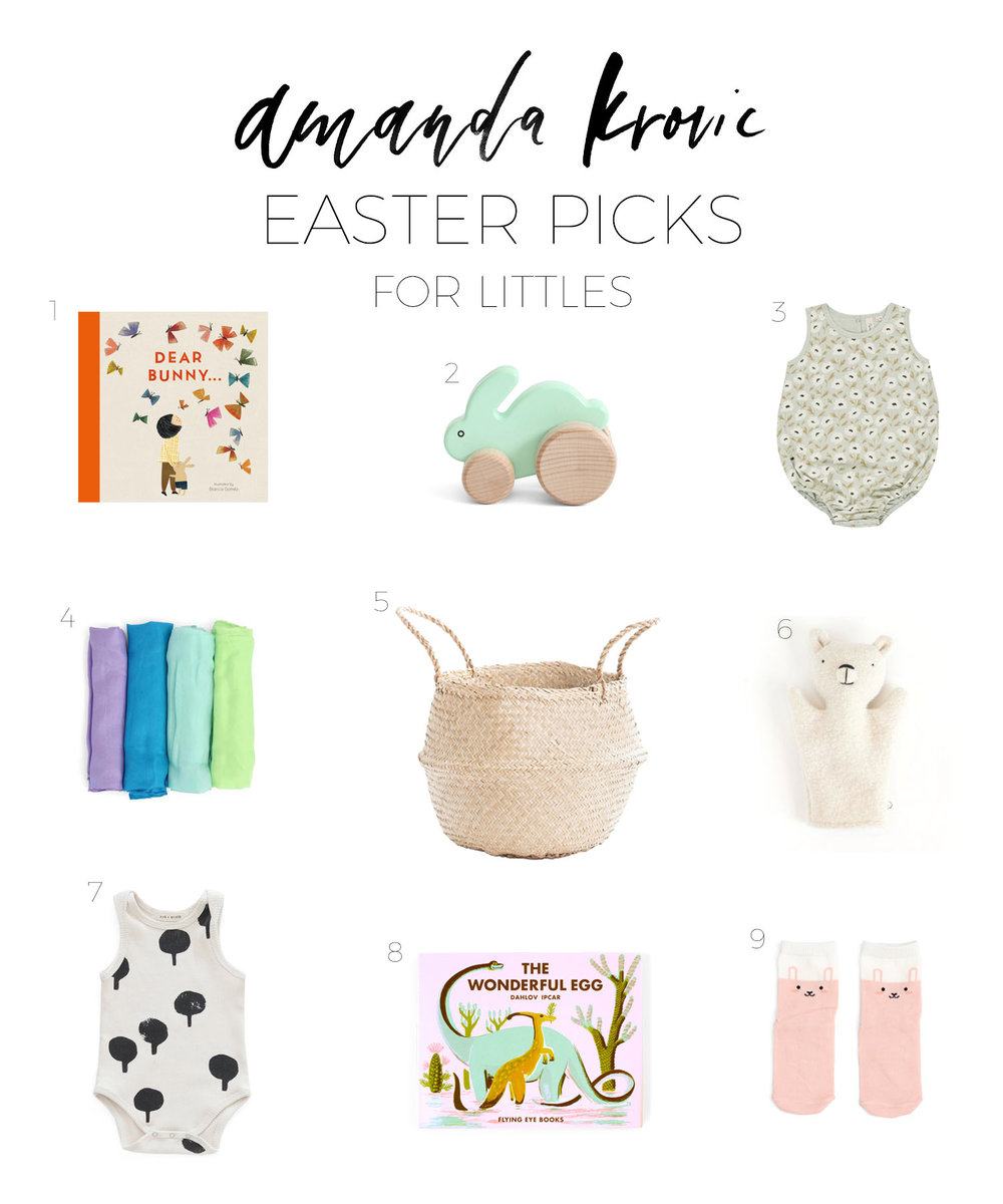 EASTER BASKET GIFTS FOR LITTLES