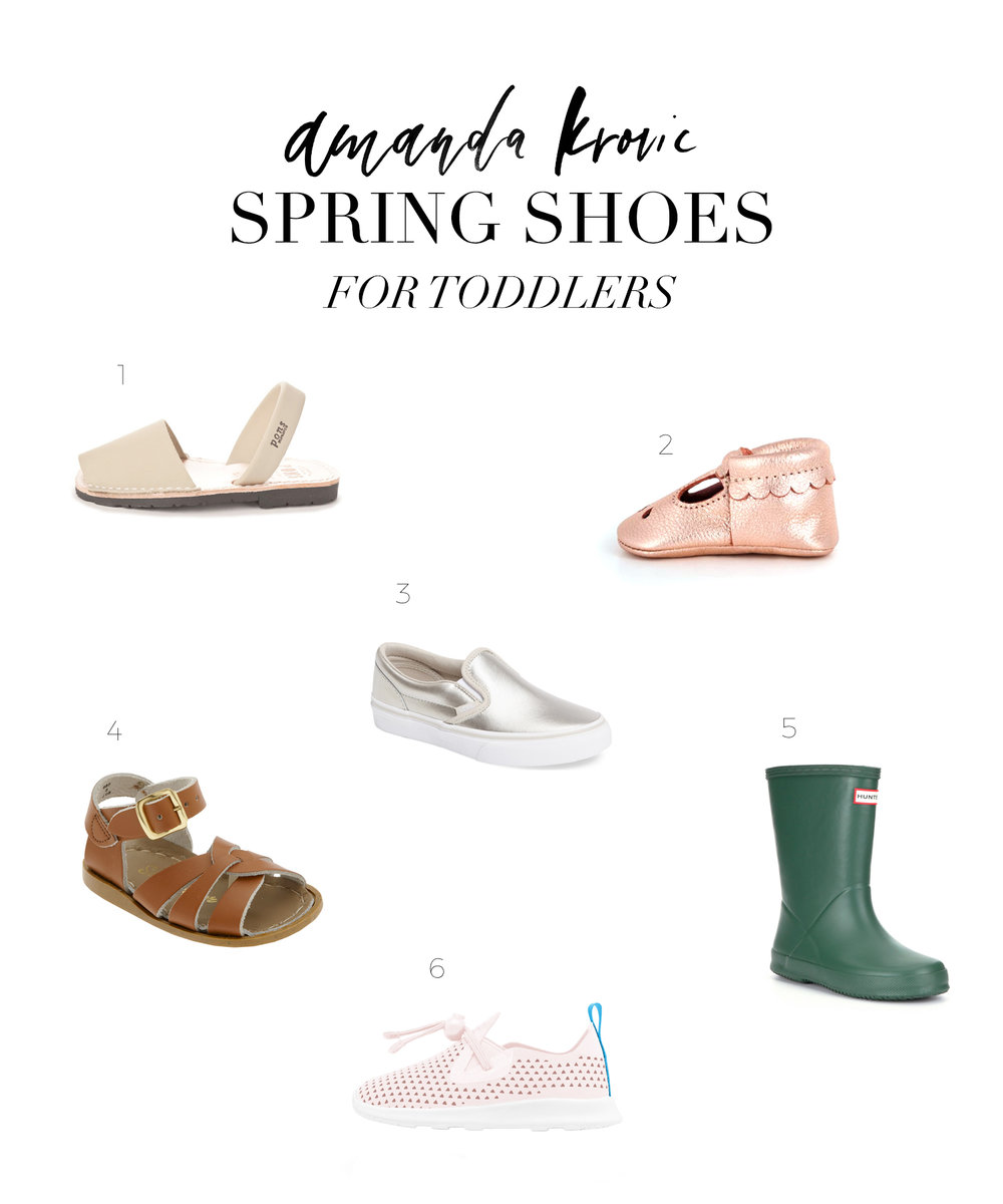 SPRING SHOES FOR TODDLERS