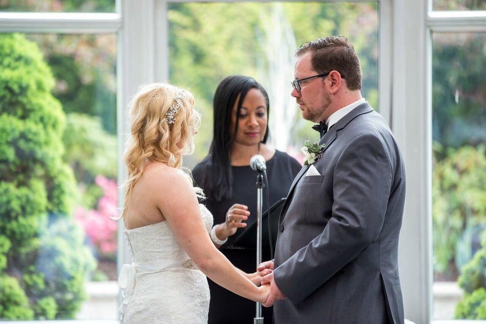 Officiant:  Aretha Gaskin   Weddings By Aretha