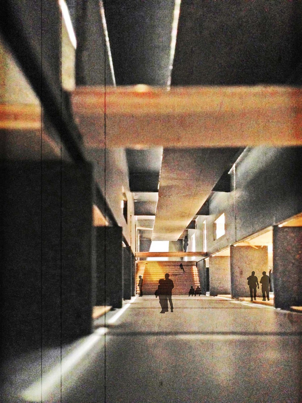 Gallery Hall Render