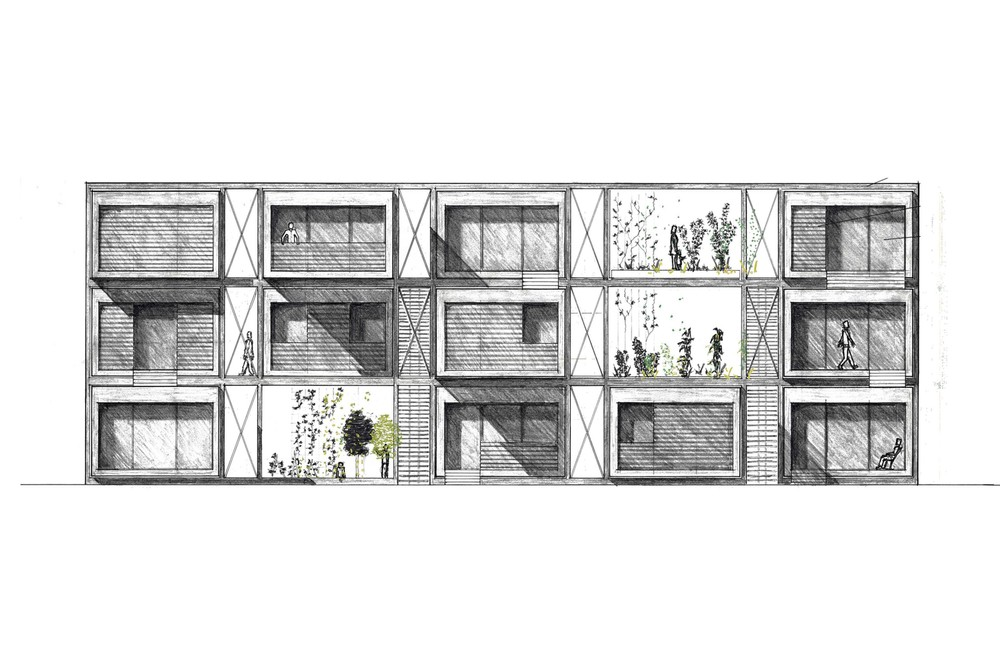 Housing Unit Elevation