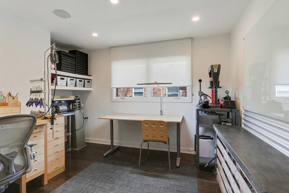 Metalsmithing studio for Urban Rustic™