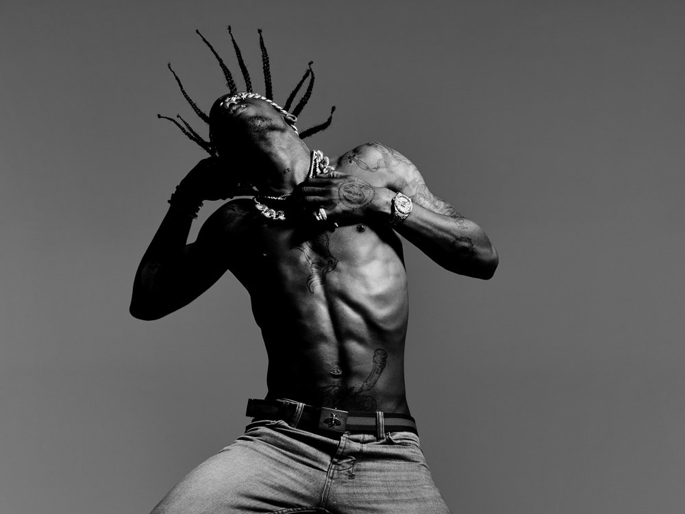 Travis Scott - Travis Scott is a hip-hop artist from Houston, Texas. He signed with Epic Records in 2012. After his signing, he helped produce GOOD Music's debut compilation album Cruel Summer . With the help of Kanye West, he released his debut solo mixtape Owl Pharaoh in 2013. The same year, he made the XXL Freshman Class of 2013 cover. In 2014, he released his second mixtape, Days Before Rodeo , before releasing his debut album Rodeo in 2015. Scott's sophomore album, Birds In The Trap Sing McKnight, released in 2016, debuted at the number one spot on the Billboard 200, and sat at the number 1 spot on Apple for 9 weeks. The album garnered more than 501 million streams on Apple and more than 335 million on Spotify.