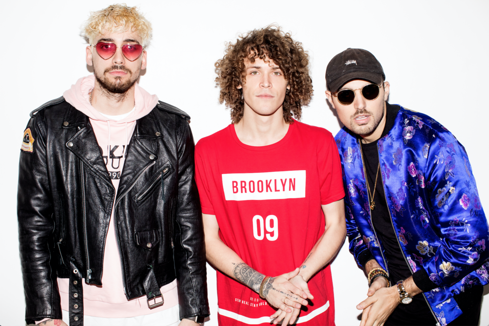 """Cheat Codes - Electronic DJ trio Cheat Codes started making music in 2014. Their single """"Adventure,"""" released in 2015, reached the #1 spot on Spotify's Global Viral 50. The trio toured with The Chainsmokers, Ansolo, and DallasK and have received praise from Buzzfeed, Huffington Post, Indie Shuffle, and more. Their hit single """"Sex"""" was released in early 201 and takes the hook from Salt-N-Pepa's """"Let's Talk About Sex"""" combined with tropical-inspired house, making it an instant hit. Within two months, it had reached #10 on Spotify's Global Charts, went Top 20 in 20 countries, and 100 million streams. The song has now garnered more than 395 million streams on Spotify. Their most recent single, """"No Promises,"""" featuring Demi Lovato, was released on March 31st and has received praise from EDM Sauce and was a Spotify Editors Pick featured in Billboard."""