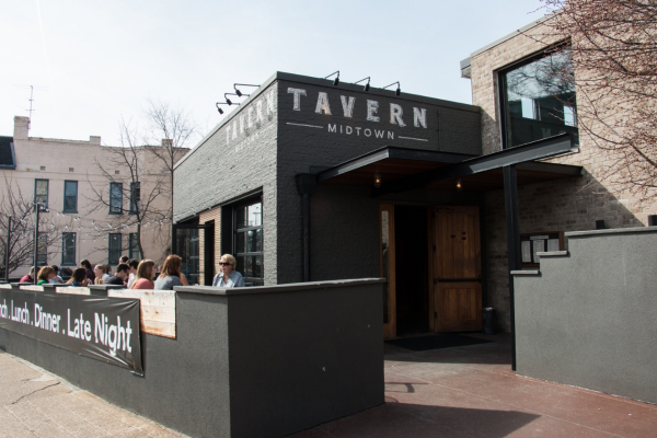 Walk Eat Nashville food tour partners with Tavern in Midtown Nashville.