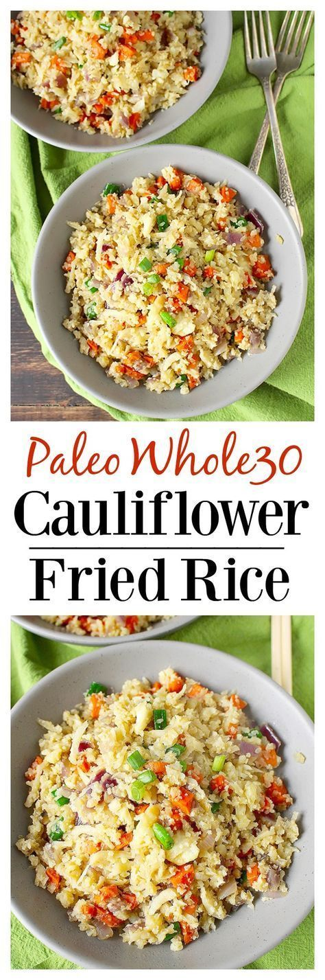 Caulifower fried rice
