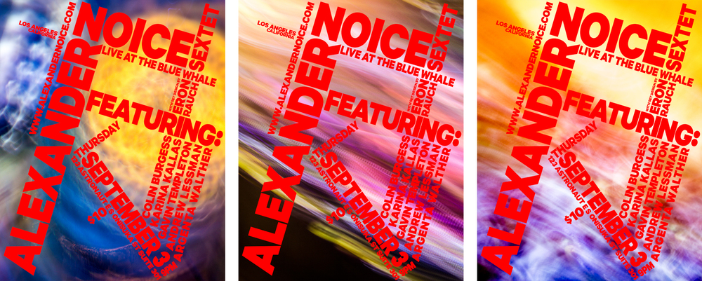 Alexander Noice Theatrical Poster Series