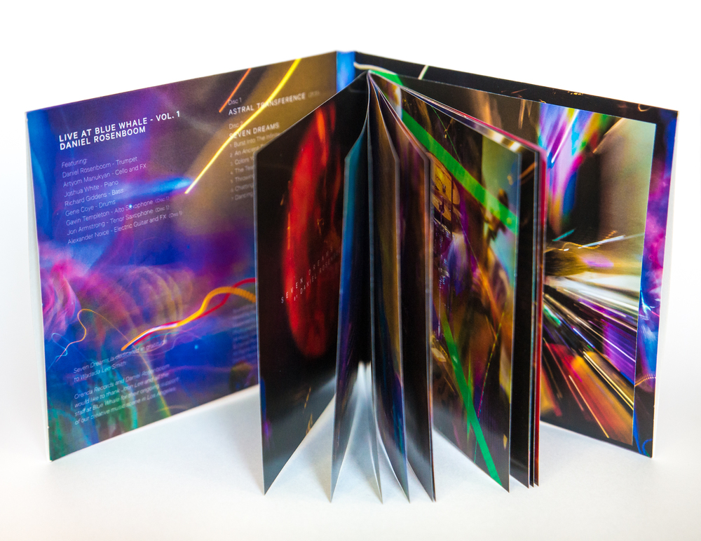 """Astral Transference"" Live Album / Photography Book Package Design"