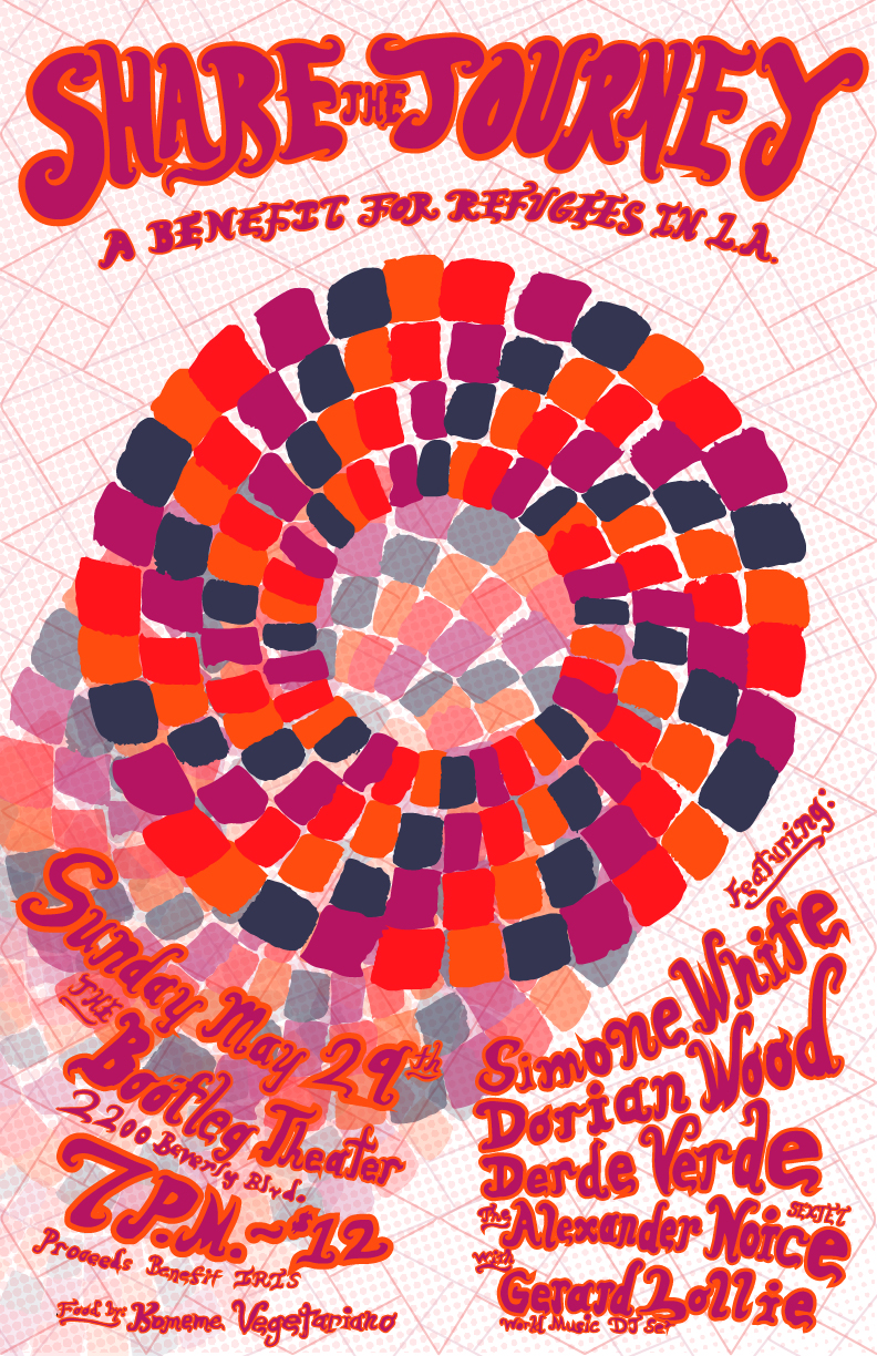 Share the Journey Benefit Poster