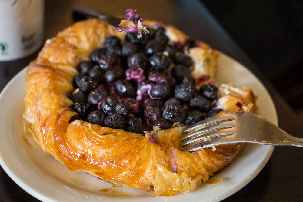 Blueberry Danish, Portland OR