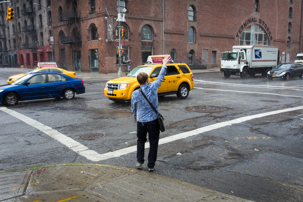 Chelsea Rain Storm, NYC