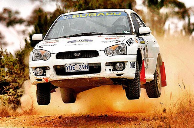 Way back Wednesday. Having fun in the archives for @subaruaustralia and the 2004 RS Challenge. #Subaru #ARC #RallyofCanberra #APRC #rally #Motorsport #gavinmosher #photoarchives #sportsphotographer #BNW www.jeffcrowphoto.com