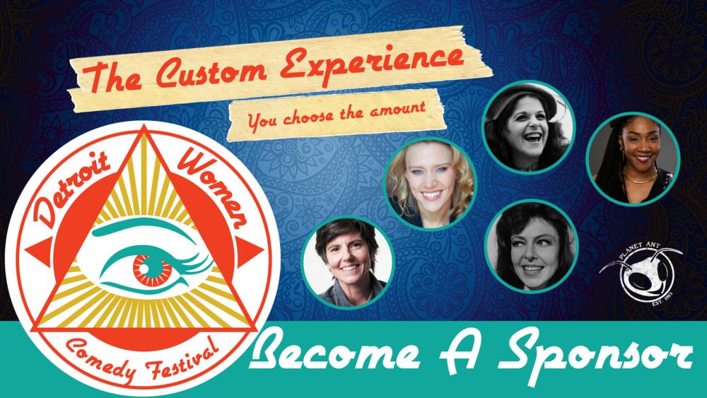 The Custom Experience   Donate whatever you like!