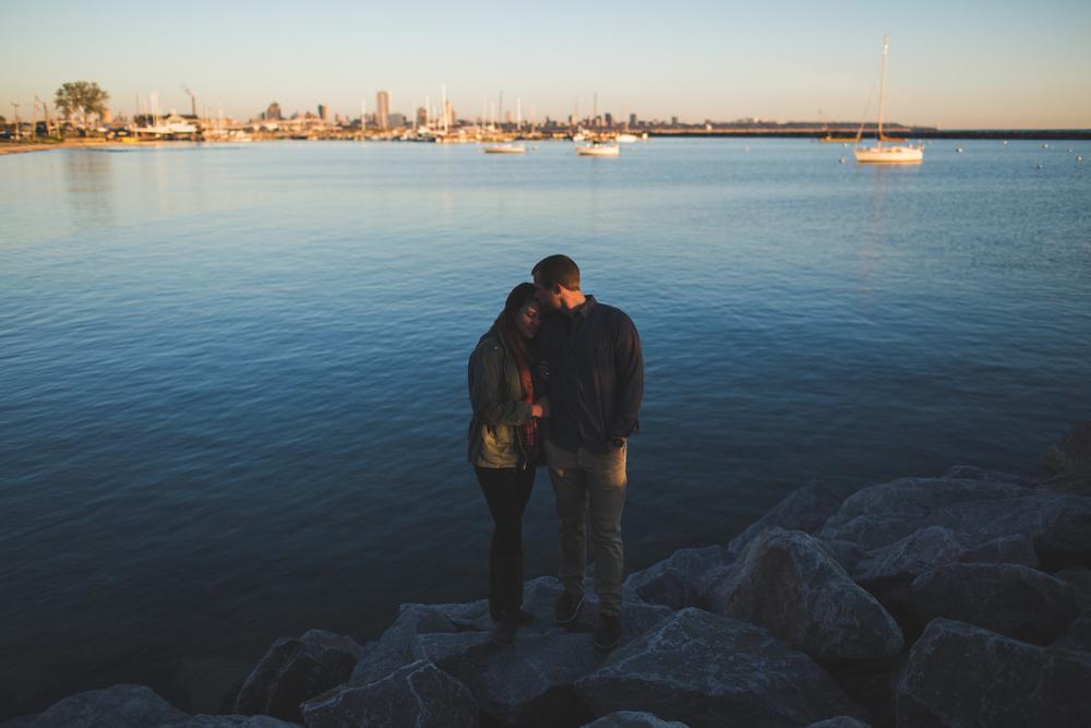 ALEX + LAUREN |  BAY VIEW, WI ENGAGEMENT