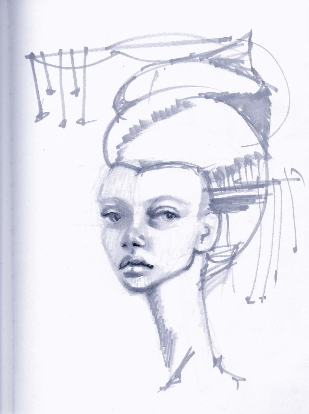 wynwood-artist-women-sketches-ivette-cabrera
