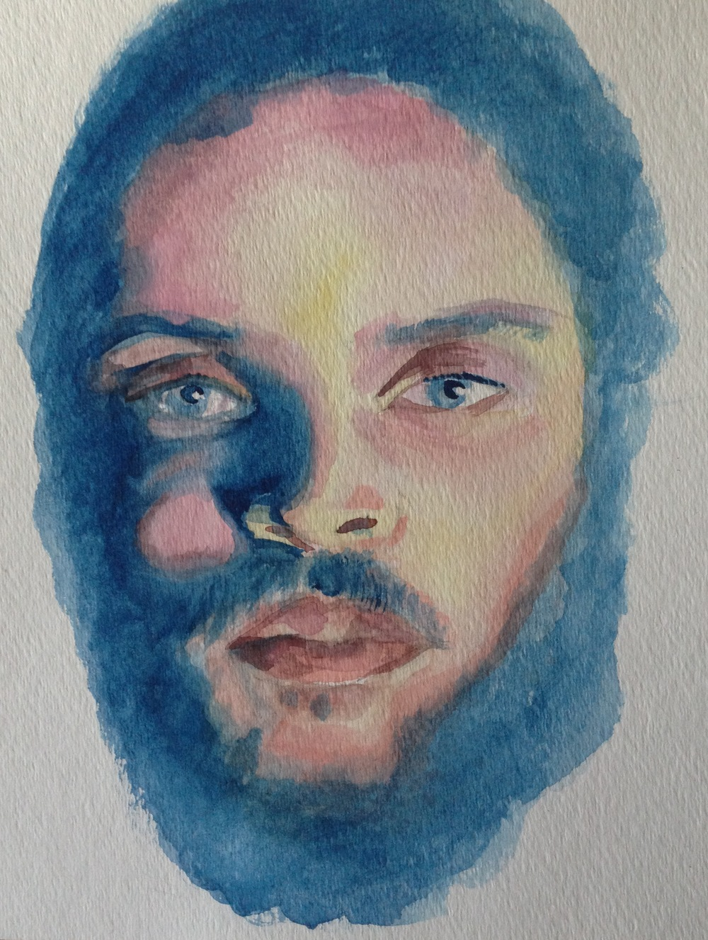 Wynwood-artist-watercolor-painting-amir-shakir