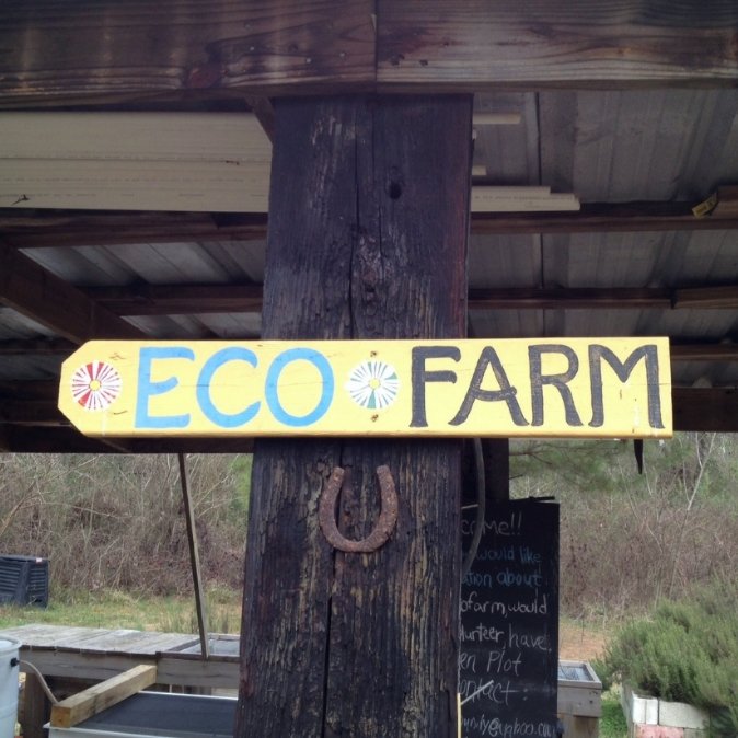 Eco Farm Sign