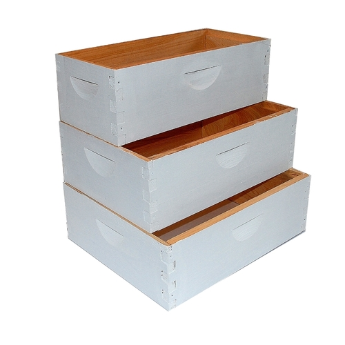Complete, Medium 6 5/8-inch Box with Frames and Foundation ...