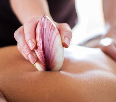 Lava Shell Massage is warm and toasty. Just in time for cooler weather!
