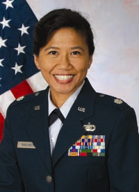Colonel Shirley S. Raguindin Ex-officio Chief Diversity Officer, Air National Guard (ANG) Chief of Diversity, National Guard Bureau (NGB)