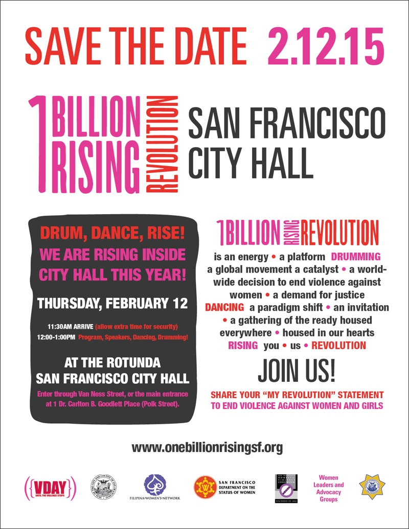 One Billion Rising Revolution San Francisco City Hall