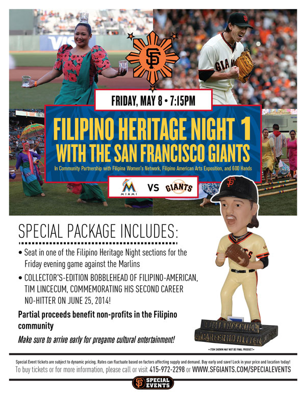 SF Giants Filipino Heritage Night 1 2015