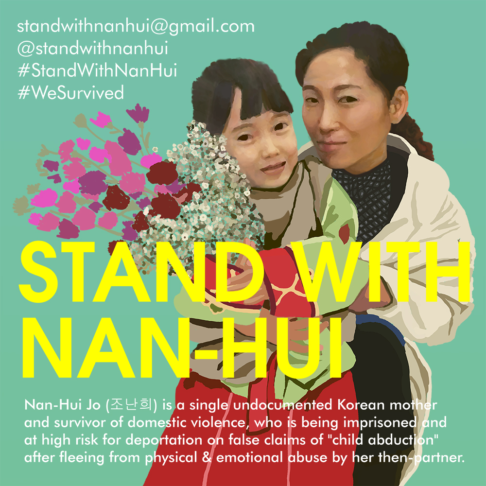 Stand with Nan-Hui
