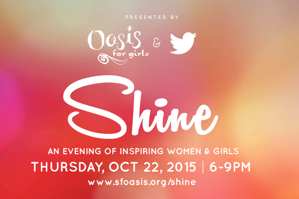 Oasis for girls: SHINE