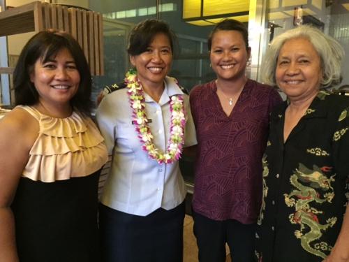 Col. Shirley Raguindin Hawaii Visit