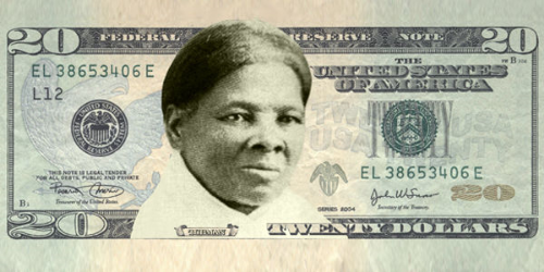 Let's put Harriet Tubman (African-American abolitionist and humanitarian) on the $20 bill.