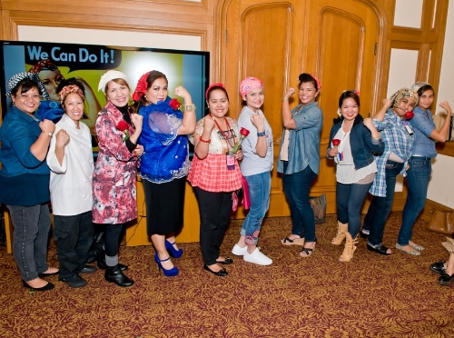 The Face of Pinay Power Finalists at the Mayor's Soirée