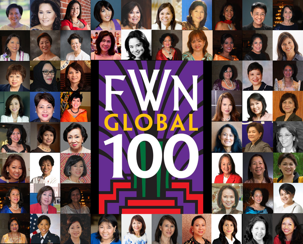 FWN100™ 2014 Most Influential Filipina Women in the World