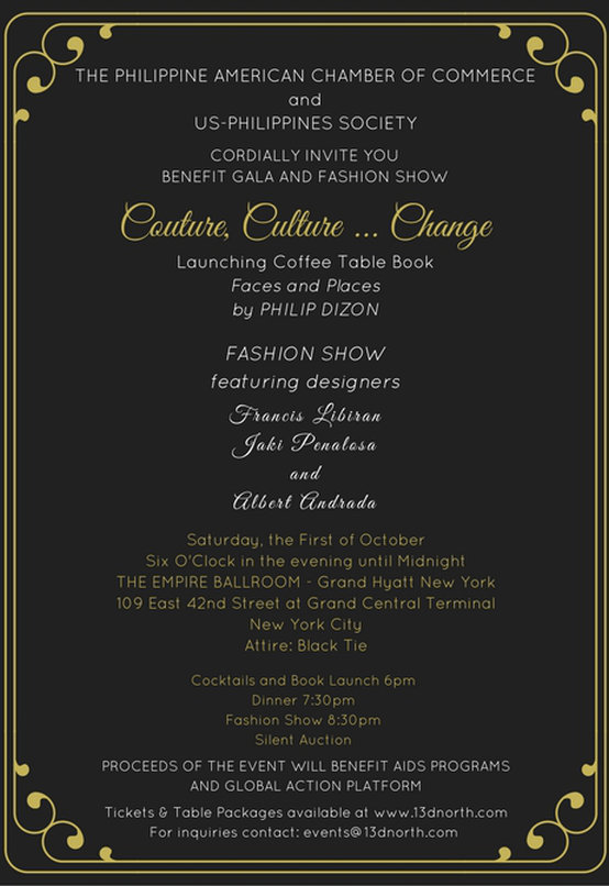 Couture, Culture... Change 2016