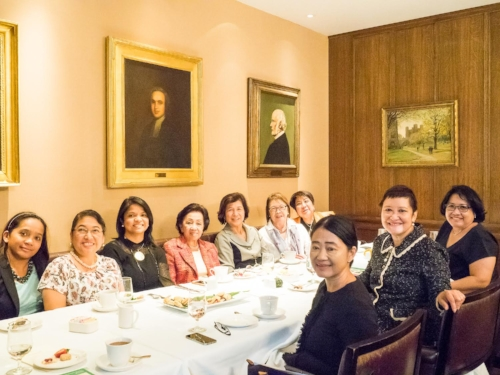 Jopin Romero (Global FWN100™ '16) shared her views on the Philippine business and investments climate under President Duterte's administration at the FWN New York MeetUp at the Princeton Club.
