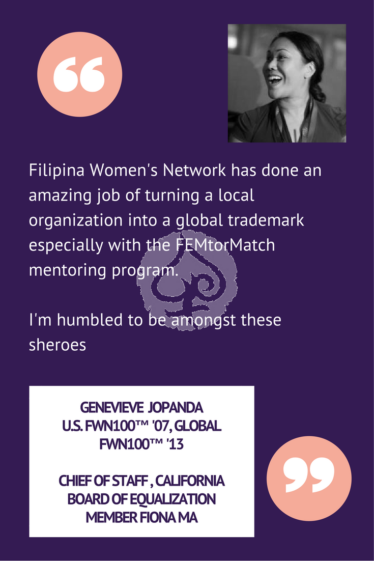 Genevieve Jopanda - FWN GivingTuesday2017