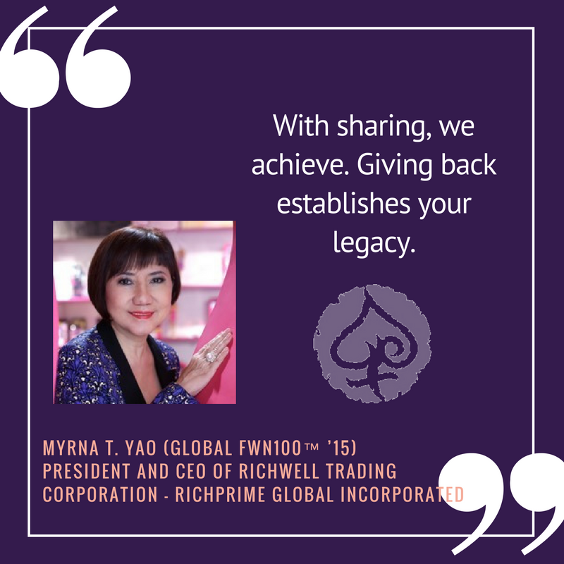 #GivingTuesday2016 - Myrna Yao