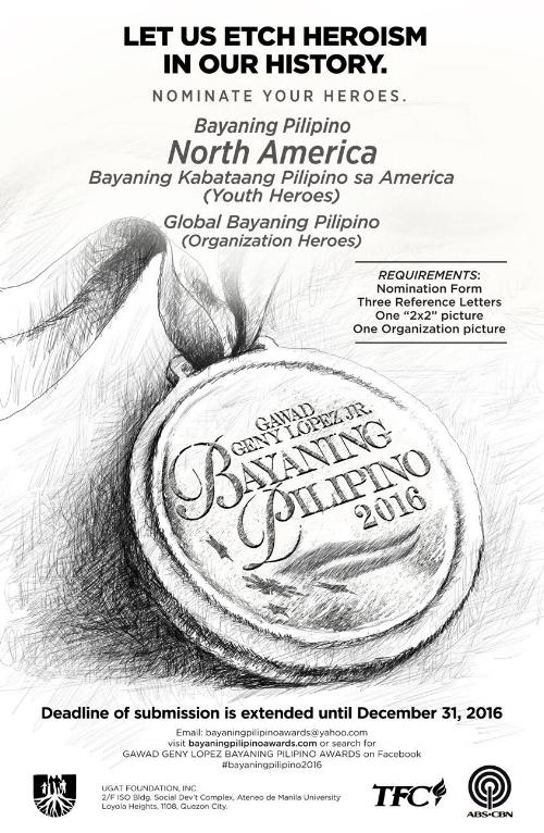 Bayaning Pilipino North America