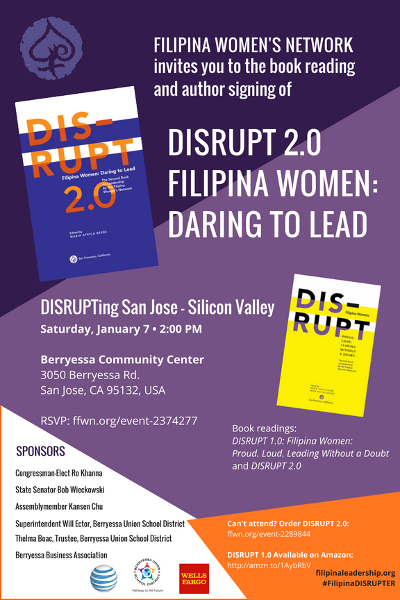 DISRUPTing San Jose-Silicon Valley, January 7, Book Launch Flyer_v3.png