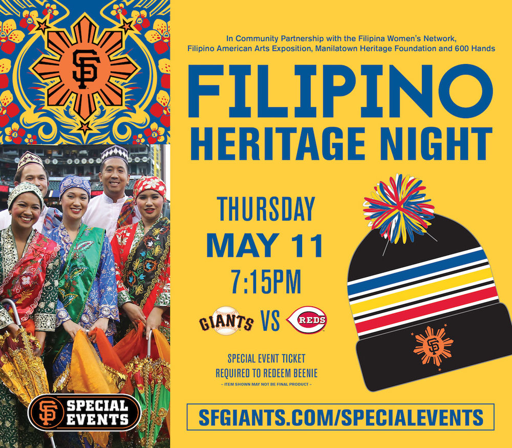 SF Giants Filipino Heritage Night 1 May 2017
