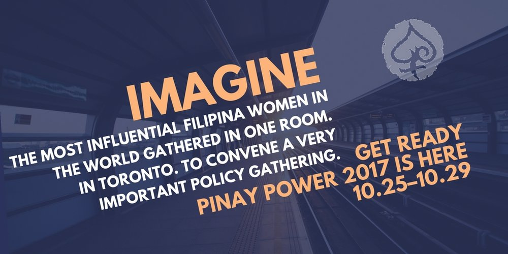 IMAGINE. THE MOST INFLUENTIAL FILIPINA WOMEN IN THE WORLD GATHERED IN ONE ROOM. EACH WITH THEIR PROTeGeS and FEMTEES. IN TORONTO. WHERE FWN WILL CONVENE A VERY IMPORTANT POLICY GATHERING. Register TODAY for the 14th Filipina Leadership Global Summit.