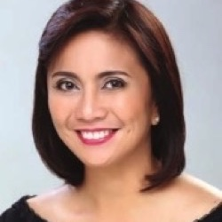 Leni Robredo  (Global FWN100™ '16) Vice President of the Republic of the Philippines (Term 2016-2022)