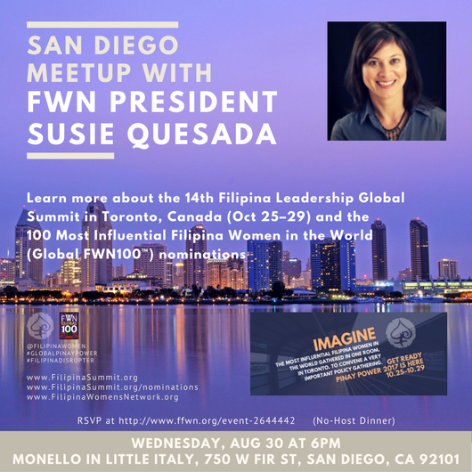 San Diego Meetup & Fellowship With FWN President Susie Quesada