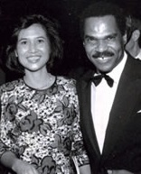 Loida Nicolas Lewis (Global FWN100™ '13) and husband, business mogul Reginald F. Lewis